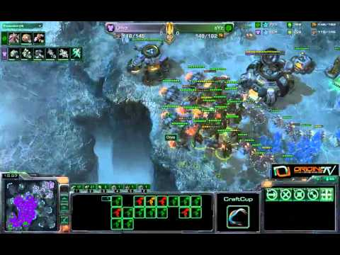 [LIVE-033] TvZ Onva vs sYz Game 1 et 2 - Starcraft 2