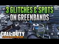 Advanced Warfare Glitches - 3 GLITCHES ON GREENBAND - Under Map Glitch, On Top of Map & Out of Map