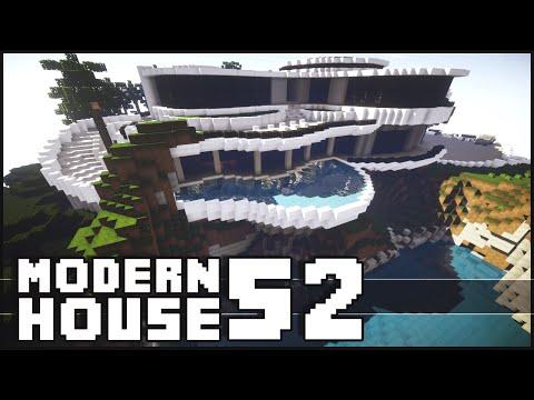 Minecraft - Epic Modern House 52 with Shark Tank!