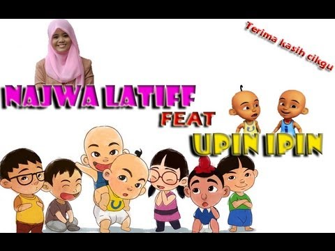 najwa latiff feat Upin Ipin - Terima Kasih Cikgu (lirik)