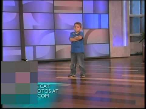 Ellen - 6yr old Tanner Edwards dances & gets a surprise