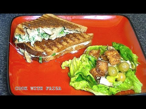 GRILLED CHICKEN PANINI SANDWICH *COOK WITH FAIZA* - UCR9WXUxcp0bR9OWi5ersIHw