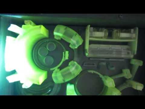 3D printing transparent material