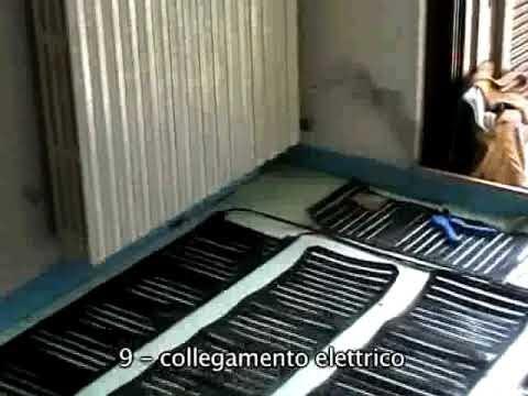 IMPIANTO RISCALDAMENTO A PAVIMENTO CON NANOTECNOLOGIE 35m2