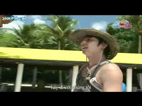 Game Show thực tế Tiffany SNSD Kko Kko tour part 19