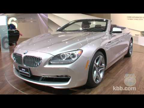 2012 BMW 6 Series Convertible - 2011 Detroit Auto Show