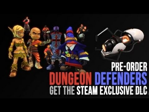 Dungeon Defenders: Steam DLC Trailer