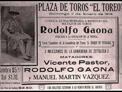 Juan Legido - Gaona - Banda Taurina del Maestro Miguel Ángel Sarralde - pasodoble