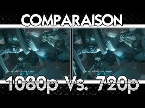 call of duty 4 1080p vs 720p