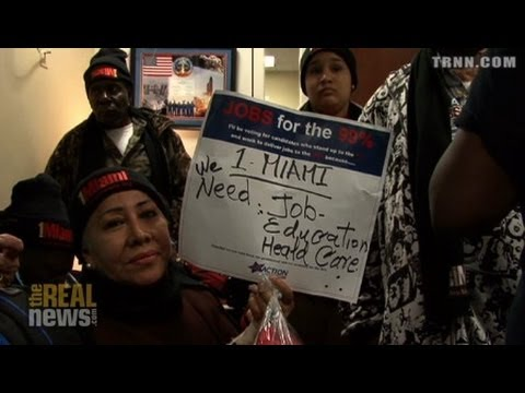 Labor Activists Occupy Congress