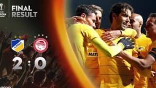 Τα 8 Γκολ του ΑΠΟΕΛ στο Β' Ομιλο του Europa League