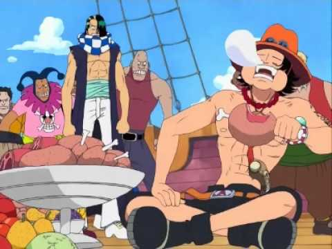 One Piece-Ace trifft Buggy
