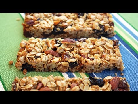 Granola Bars - Easy One-Bowl Recipe.