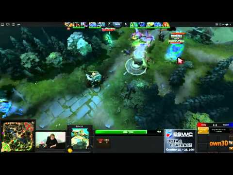 Dota 2 - ESWC Group Stage - Monkey vs Moscow 5