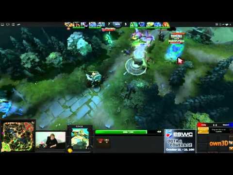 Dota 2 - ESWC Group Stage - Monkey vs Moscow 5