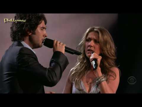 "Celine Dion & Josh Groban Live ""The Prayer"" HD 720p"