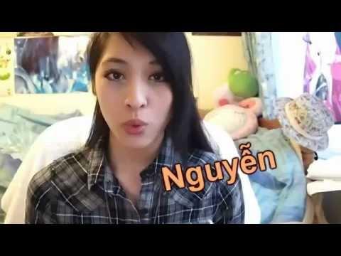 Cô giáo dạy tiếng Việt cực xinh. How to speak Vietnamese?