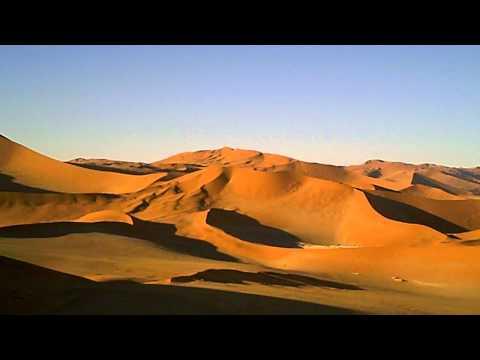 ナミブ砂漠は赤かった!@Namibia