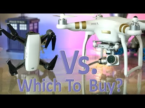 DJI Spark Vs Phantom 3 Professional - Which One Do You Buy On A Budget?