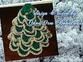 alberino di Natale all'uncinetto prima parte