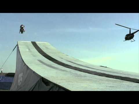 Levi LaVallee-s World Record Snowmobile Jump - Red Bull New Year No Limits 2010