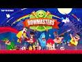 Фрагмент с начала видео - Bowmasters #4 Мультфильм Игра про ДУЭЛЬ ГЕРОЕВ Игровой мультик не для детей Боумастер