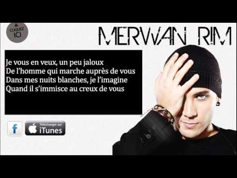 Merwan Rim - Vous ( belle inconnue ) - Paroles officiel
