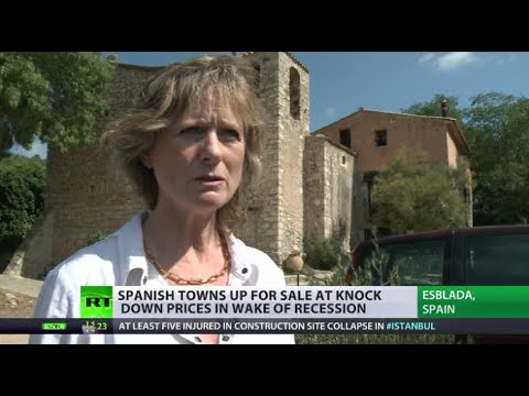 Soil for Sale: Whole Spanish towns sold for bargain amid recession    9/28/14  (Spain)