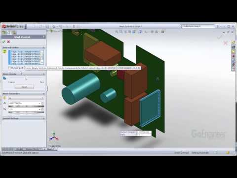 SolidWorks Simulation- Mesh Controls