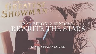 The Greatest Showman - Rewrite The Stars (Piano Cover) [Zac Efron & Zendaya] +Sheets