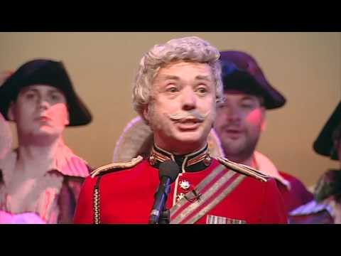 Major General song from The Pirates of Penzance, Gilbert And Sullivan (31July11)