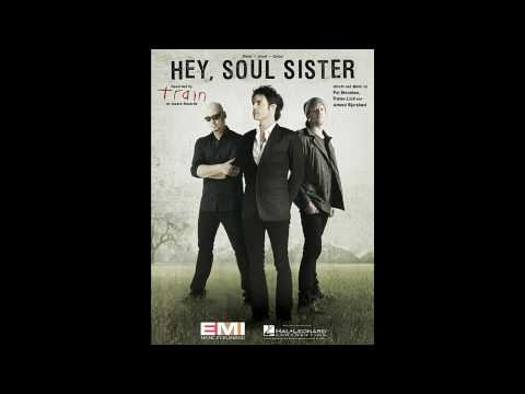 The refrain of Train - Hey Soul Sister