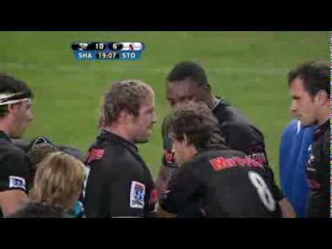 Beast unbelievable lifting : Super Rugby 2012 R.14 Sharks vs Stormers