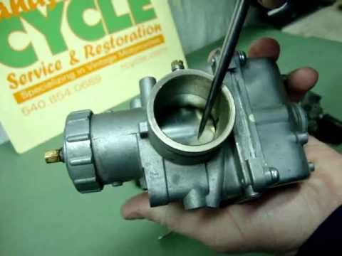 Randy's Cycle Service Explains Carburetors, Choke & Cold Starting - vintage motorcycles