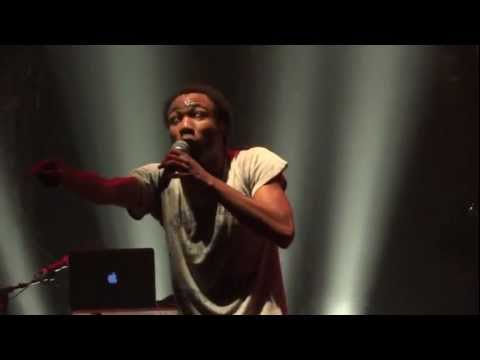 "Childish Gambino - ""Bonfire"" (Live in Los Angeles 11-12-11)"