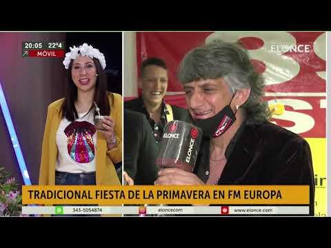 En Paraná la primavera se festeja en casa: Grupo Leyenda cantó en vivo