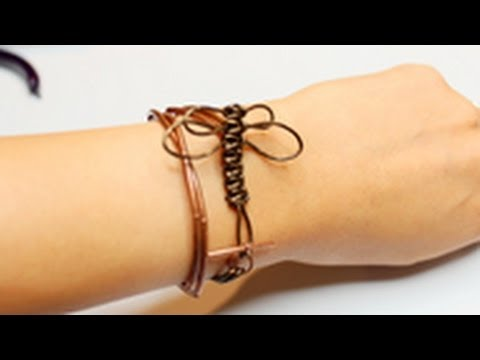 DIY Stackable Bracelet #4: Dragonfly Wrapped Bracelet