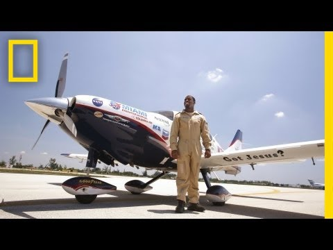 National Geographic Live! - Barrington Irving: Teaching from the Skies