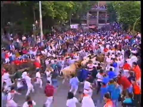 Encierro San Fermín   11 de julio de 1992 480p