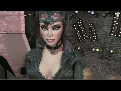 Batman Arkham City | OFFICIAL CATWOMAN trailer (2011)