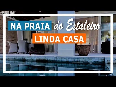 Referências de projetos arquitetônicos - Casa na praia do Estaleiro (SC)