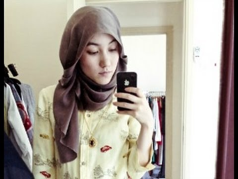 Hana Tajima Inspired Hijab tutorials