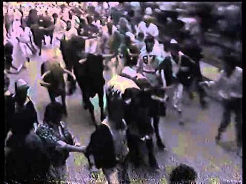 Encierro de San Fermín   9 de julio de 1987 480p