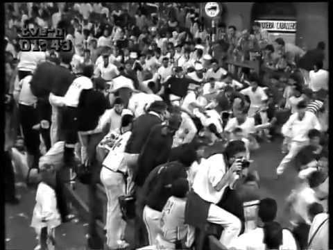 Encierro San Fermin Pamplona del día 8 7 1988