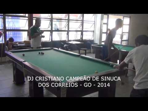Final de Sinuca   DJ Cristiano Campeão