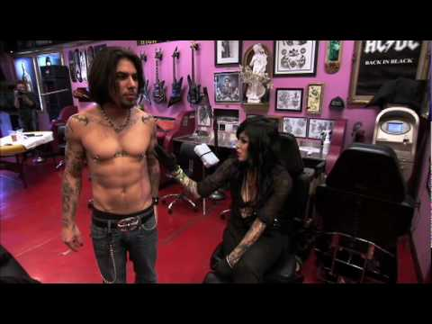 LA Ink - Dave Navarro from Jane-s Addiction