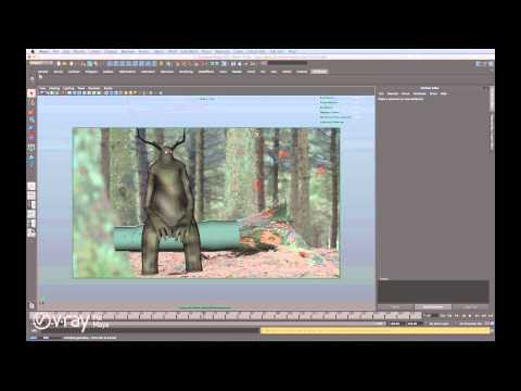 The making of Gloam - V-Ray for Maya tutorial by David Elwell