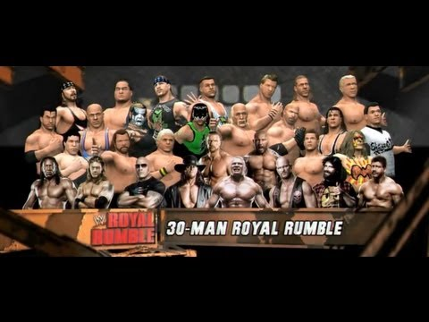 WWE 12 | Legends Royal Rumble