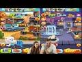 Фрагмент с конца видео - Неоновый забег в игре Том бег за золотом! Неоновая Анджела против Гавайского хенка от Каталекс!