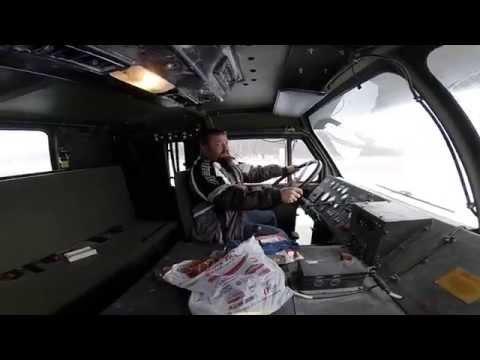 Oshkosh M1070 Interior Oshkosh M1070